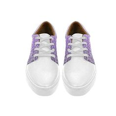 Lace Up Womens Shoes swirls zentangle Womens Leather Fashion Sneakers * Learn more by visiting the image link.