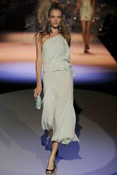 Zac Posen Spring 2009 Ready-to-Wear Fashion Show - Vlada Roslyakova