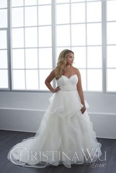 63d72f2cf23b This Sweetheart Gown is Captivating and Beautiful - Bridal and Formal. Plus  Size BridesWedding ...
