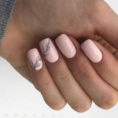 Ideas for nails 2018 shellac spring Chic Nails, Stylish Nails, Pink Nails, My Nails, Nude Nails, Nails 2018, Gel Nail Designs, Nails Design, Perfect Nails