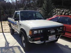 Nissan Pickup Truck, Pickup Trucks, 4x4, Nissan Hardbody, Datsun Car, Mini Trucks, Dreams, Cars, School