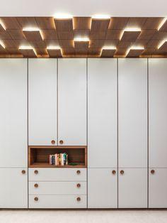 Swaram – A Contemporary House - ceiling design Wardrobe Door Designs, Wardrobe Design Bedroom, Bedroom Bed Design, Bedroom Furniture Design, Wardrobe Doors, Modern Bedroom Design, Closet Designs, Master Bedroom, Fall Ceiling Designs Bedroom