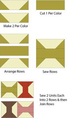 Arkansas Traveler Is a Spools Design That's Perfect for Scrap Quilts: Sew the Arkansas Traveler Quilt Block