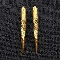 Macha  Reverence Earrings - Gold Plate  www.darkroomlondon.com