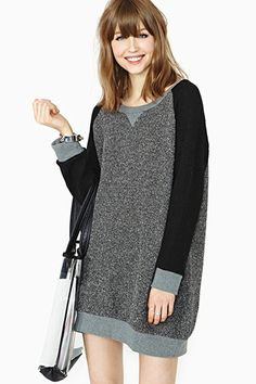 Somedays Lovin' Rambling Man Sweater Dress, $98, available at Nasty Gal.