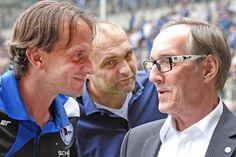 Arminias Verantwortliche sprechen dem Trainer das volle Vertrauen aus +++  Rehm hat nichts zu befürchten