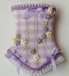 how to: corset Puppen Korsett