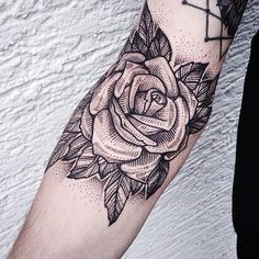 Image result for rose fire tattoo