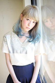 088 | HEAVENS HAIR | ヘブンス Medium, Blue, Hightone, color