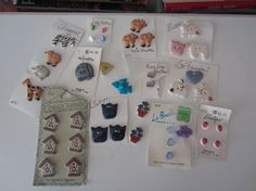 FoRTY EiGHT CHILDRENS CLOTHING BUTTONS