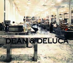 Great image of Dean and Deluca Soho.