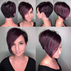 New Short Hairstyles 2018 New Short Hairstyles, Best Short Haircuts, Hairstyles With Bangs, Braided Hairstyles, Hairstyles 2018, Pixie Haircuts, Short Brown Hair, Short Hair With Bangs, Short Hair Cuts For Women