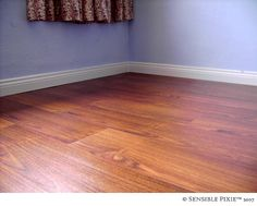 Next Home Project... Laminate Wood Floors!