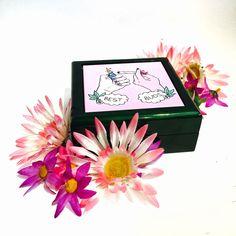 Best Buds Best Friends 420 Secret Stash Box Weed Box