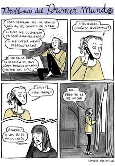 American exchange student? :) Problemas del primer mundo, Laura Pacheco