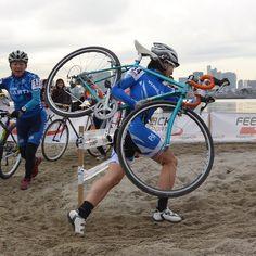 Cyclocross Tokyo 2015. Team TOYO FRAME. Hako Yamano.