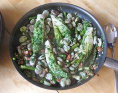 La Vignarola (spring vegetable stew) http://theproofofthepudding.net/2014/05/28/spring-vegetable-medley-la-vignarola/