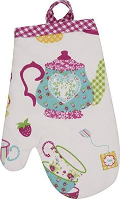 Handstand Kitchen Childs Tea Party Oven Mitt >>> You can get more details by clicking on the image.