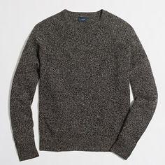 J.Crew Factory - Marled lambswool crewneck sweater