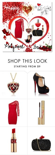"""""""Untitled #151"""" by lillianpaul ❤ liked on Polyvore featuring Christian Louboutin, Vero Moda, Yves Saint Laurent, Diane Von Furstenberg, women's clothing, women, female, woman, misses and juniors"""