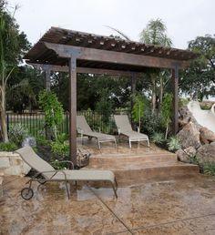 backyard pergola design