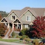 Gazebo off porch front wrap around porch or deck for Exterior design vancouver wa