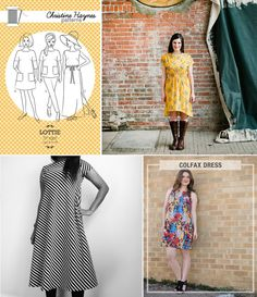 14 Women's Simple Summer Sewing Patterns for July