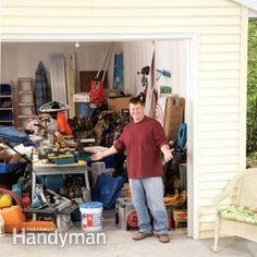 Building a Garage Storage Wall