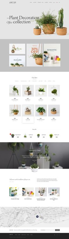 Buy Amour - Shop WordPress theme - Flower - Jewelry - Handmade - Gift by Beautheme on ThemeForest. Be it online shop for Flowers, Jewelry, Clothing or Handmade products, Amour offers the flexibility to fully customi. Website Design, Homepage Design, Design Guidelines, Web Design Tips, Web Layout, Layout Design, Minimal Theme, Website Themes, Home And Deco
