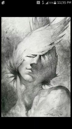 Newest charcoal drawing by Michael Hussar