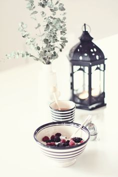 Healthy living & healthy breakfast can be so cute :)