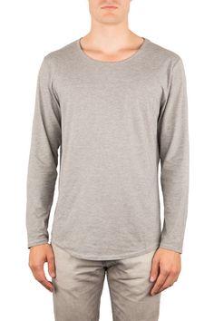 SOUL |SEACELL™ LANGARM | Funktion Schnitt #seacell #material #longsleeve #tshirt #shirt #mensstyle #menswear #fashion #mensfshion #chill #look #funktionschnitt #casual #basic #grey