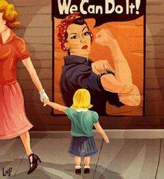 We did it. I HATE modern feminism.