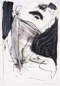 Lost in America - vjeranski: Tim Dayhuff Life Drawing, Drawing Faces, Figure Drawing, Painting & Drawing, Drawing Tips, Abstract Portrait, Portrait Art, Portraits, Art Sketches