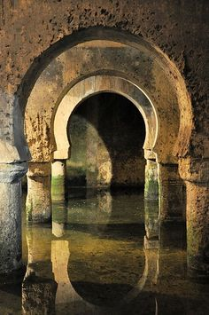 Almoravid Cistern in Caceres, Extremadura, Spain