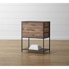 Crate & Barrel Knox Low Storage Bookcase ($899) ❤ liked on Polyvore featuring home, furniture, storage & shelves, bookcases, storage bookcase, low book case, low bookshelves, crate and barrel and low bookcase
