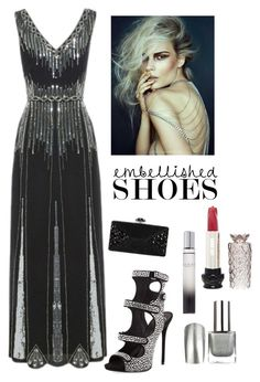 """Fabulous Heels"" by kotnourka ❤ liked on Polyvore featuring Giuseppe Zanotti, Gucci, Anna Sui and Judith Leiber"
