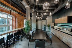 loft interior design Align Technology, Cozy Office, Loft Interior Design, Office Lobby, Loft Interiors, Table, Furniture, Architects, Home Decor