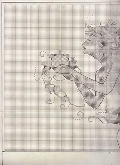 Schema punto croce - The Queen Mermaid | Hobby lavori femminili - ricamo - uncinetto - maglia