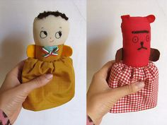 misako mimoko: My Topsy-Turvy Dolls · mis muñecas de dos y tres caras