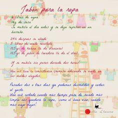Agulla llanera: Receta tutorial de Jabón Casero