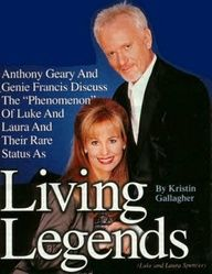 Genie Francis and Anthony (Tony) Geary Photo Gallery.both living legends Soap Opera Stars, Soap Stars, Best Love Stories, Love Story, Tony Geary, Laura Spencer, Genie Francis, Luke And Laura, Medical Drama