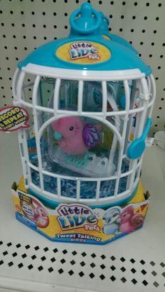 Walmart little live pets cage