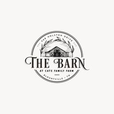 Client wanted his barns detailed illustration for this farm logo and i have added some botanical touches to frame it. Bakery Logo Design, Design Logo, Vintage Logo Design, Logo Vintage, Business Logo Design, 2 Logo, Typography Logo, Logo Branding, Logo Boutique