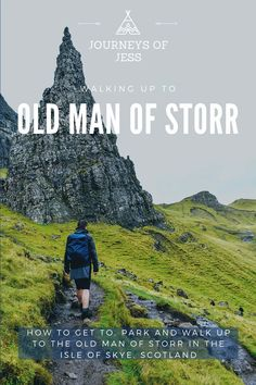 Walking up the Old Man of Storr in the Isle of Skye? Amazing views from the top and across loch's and Raasay! See how to get there, where to park and how to walk up to the top without being completely covered in mud.... #oldmanofstorr #isleofskye #thingstodointheisleofskye #visitingscotland #nc500 #northcoast500 Travel Plan, Travel Advice, Budget Travel, Travel Tips, Great Places, Places To Go, Beautiful Places, Amazing Destinations, Travel Destinations