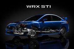The inner workings of the new Subaru WRX STI