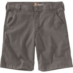 The Carhartt Men's Rugged Flex Rigby 10 Inch Short is a stretchy work short with a relaxed Fit. The midweight cotton canvas offers hardwearing durability, and stretch construction ensures you won't feel restricted as you kneel, bend, and High-step your way through the day. The low-profile slip pocket on the right tHigh is great for holding onto a phone, pen or pencil, knife, or whatever it is you need to keep handy. Features of the Carhartt Men's Rugged Flex Rigby 10 Inch Short Sits at the… Mens Boots Fashion, Men's Fashion, Fashion Brands, Fashion Socks, Fashion Black, Fashion Vintage, Cheap Fashion, Fashion Designers, Fashion Styles