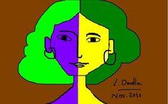 Lidia Delectorskava. Matisse. ordenador