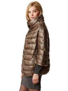 my idea of a basic down jacket | steffi 3/4 cape | gorsuch