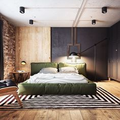 "3,271 Likes, 24 Comments - ALL OF RENDERS (@allofrenders) on Instagram: ""#AllofRenders Loft Bedroom ♥ Tag friends   Render by @jb.interior_design…"""